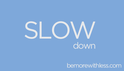 8 Essential Lessons for Mastering the Art of Slowing Down