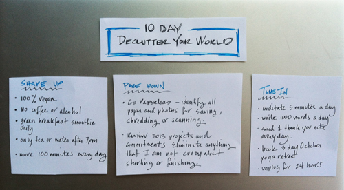 Challenge declutter your world in 10 days be more with less worlddeclutter2 fandeluxe PDF