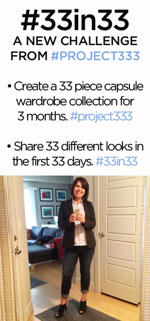 33 in 33: A minimalist fashion challenge from #project333