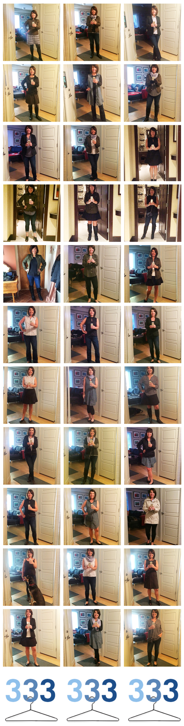 33 Looks with 33 Items #Project333