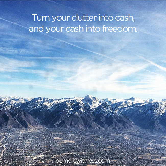 5 Steps to Turn Your Clutter into Cash