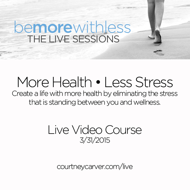 Live Video Course on March 31st