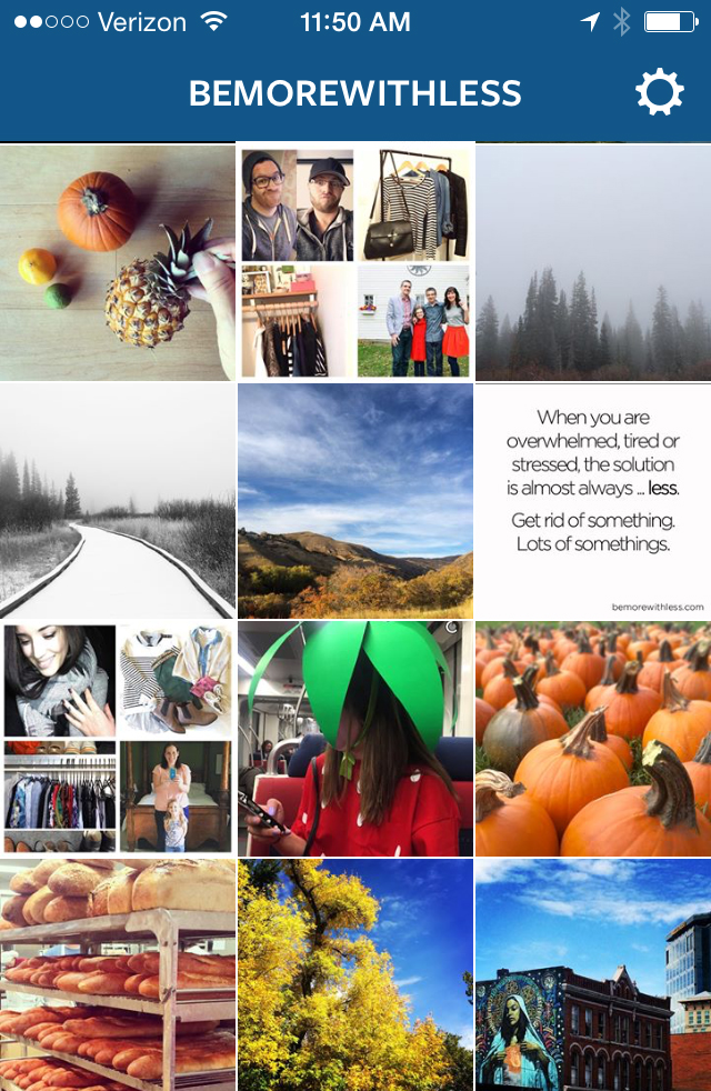 Let's Start a Simplicity Movement on Instagram