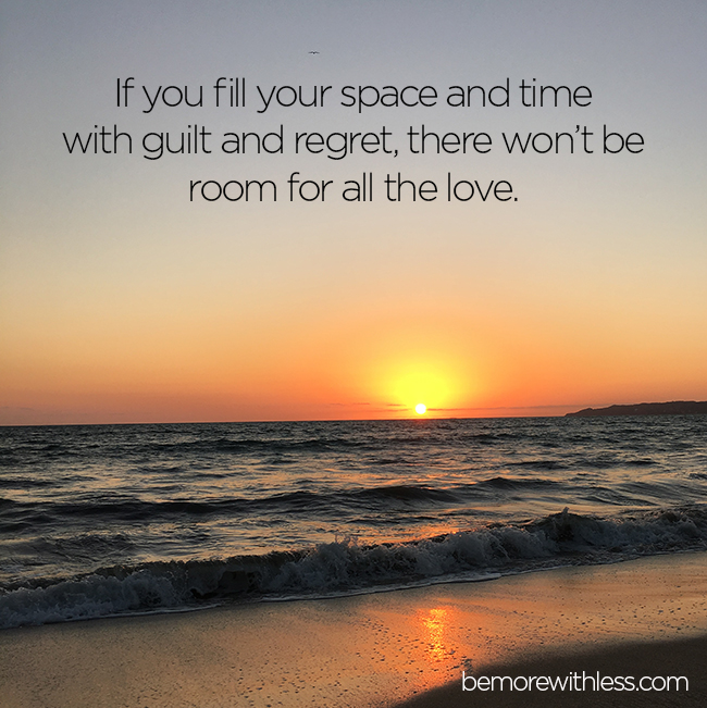 the negative feeling of guilt in our lives Participants who were made to feel guilty were willing to pay more for we are too busy self soothing or trying to escape the bad feeling to shift our attention.