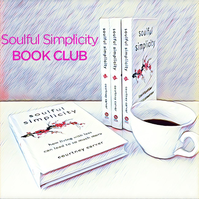 soulful simplicity book club courtney carver