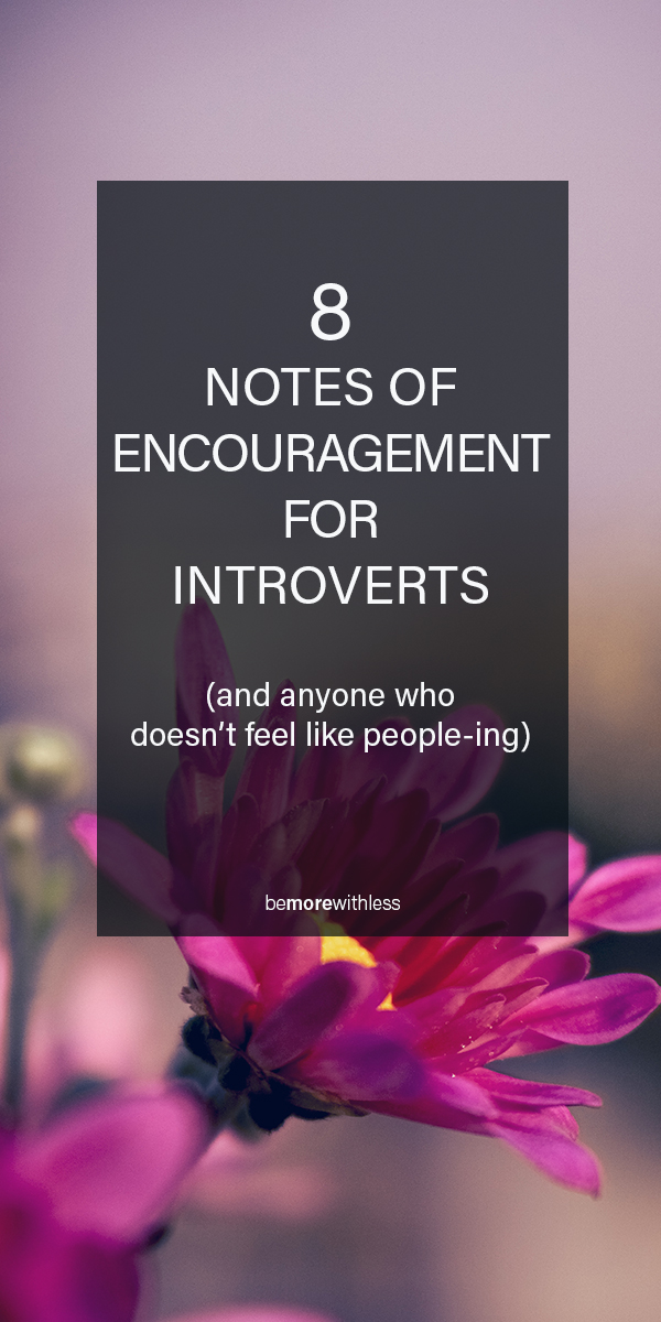 For The Introverts