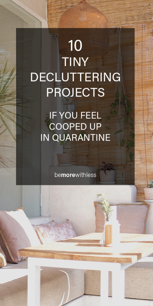 Decluttering Projects