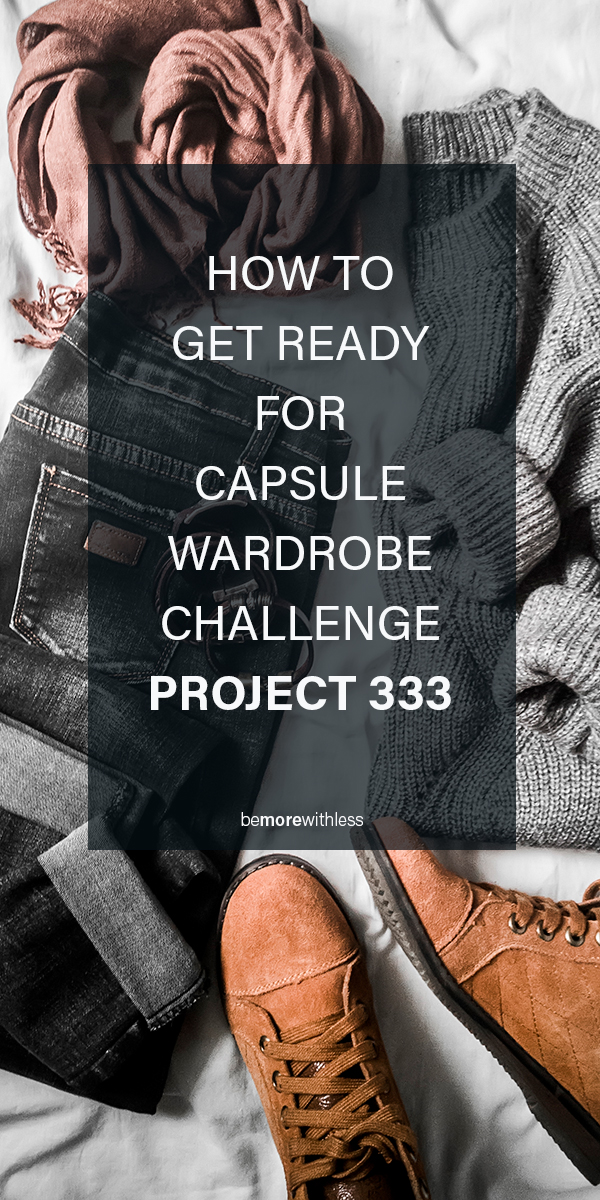 CAPSULE WARDRBOBE CHALLENGE PROJECT 333